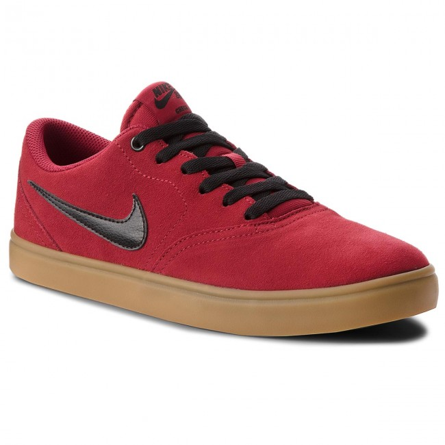 Chaussures NIKE Sb Check Solar 843895 601 Red CrushBlack