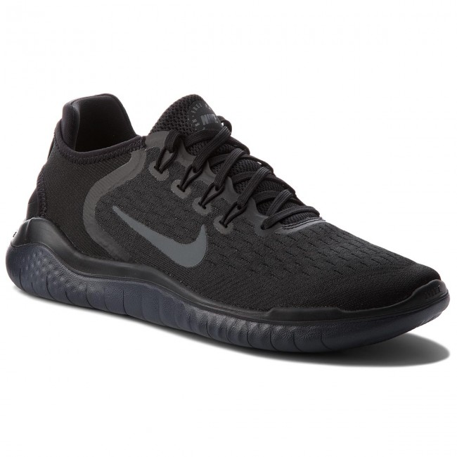 design intemporel aaa69 d76f9 Chaussures NIKE - Free Rn 2018 942836 002 Black/Anthracite