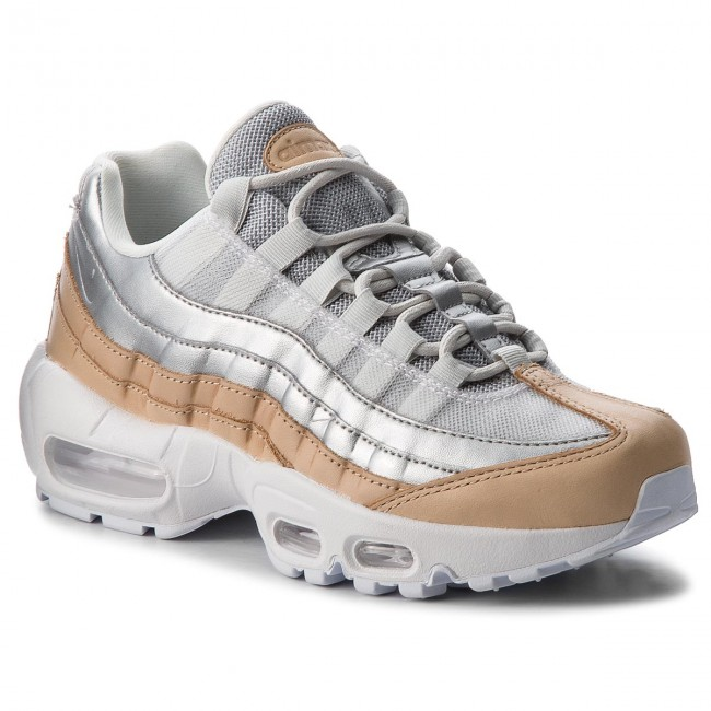 Chaussures NIKE - Air Max 95 Se Prm AH8697 002 Pure Platinum/Metallic Silver