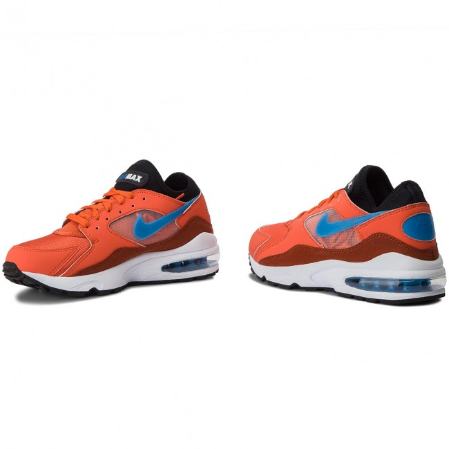 Chaussures NIKE Air Max 93 306551 800 Vintage CoralBlue Nebula