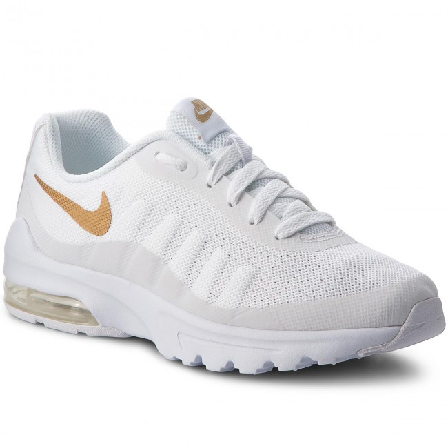 Chaussures NIKE - Air Max Invigor (GS) 749572 100 White/Metallic Gold