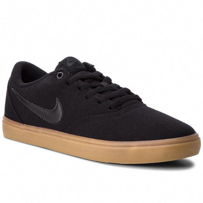 Chaussures NIKE - Sb Portmore II Solar Mid 923198 300 Sequoia/Black/Gum Med Brown - Sneakers - Chaussures basses - Homme