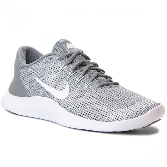 Chaussures NIKE Flex 2018 Rn AA7397 010 Cool GreyWhite
