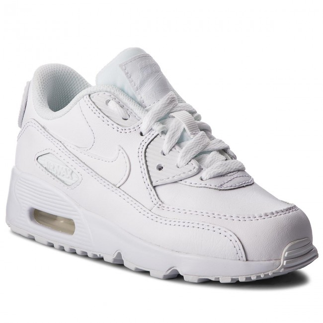 Chaussures NIKE Air Max 90 Ltr (PS) 833414 100 WhiteWhite