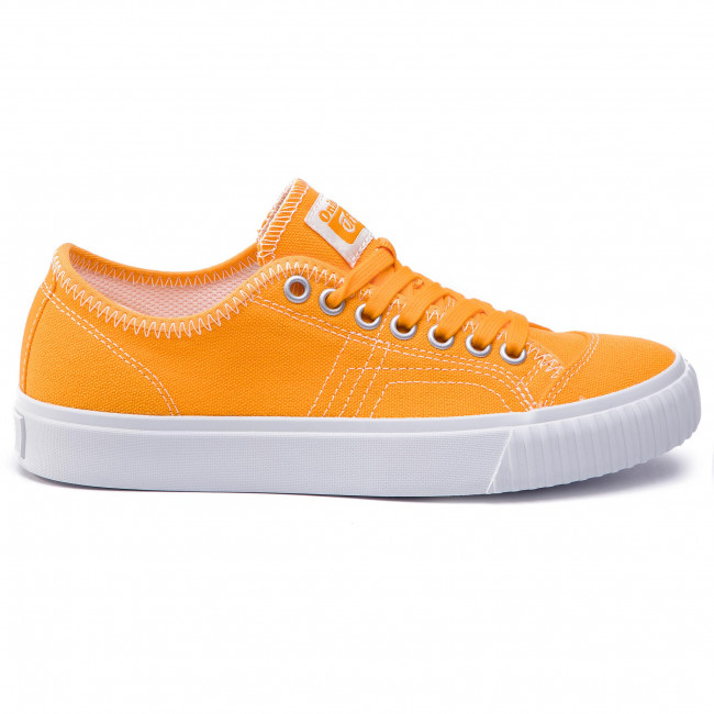 Tennis Onitsuka Tiger - Ok Basketball Lo 1183a204 Citrus/citrus 801 Baskets Chaussures Basses Femme
