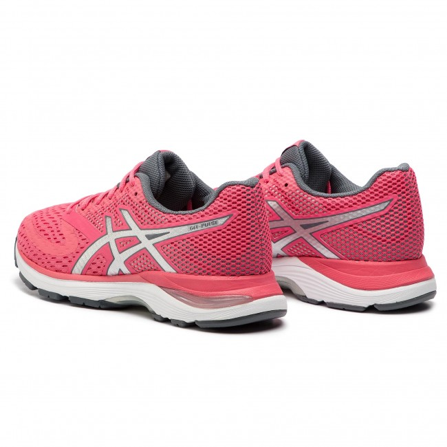 Gel 1012a010 Chaussures 10 pulse silver Asics Pink Cameo 700 E9WDHIeYb2