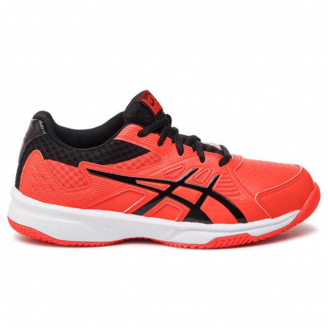 Chaussures ASICS Court Slide Clay Gs 1044A006 Cherry TomatoBlack 808