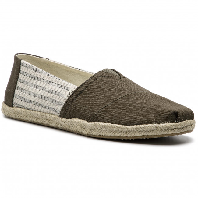 League On Toms Stripes 10013528 Ivy Rope Espadrilles Classic Tarmac jLq534AR
