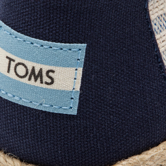 Espadrilles Toms - Classic 10013504 Navy Ivy Chaussures Basses Femme