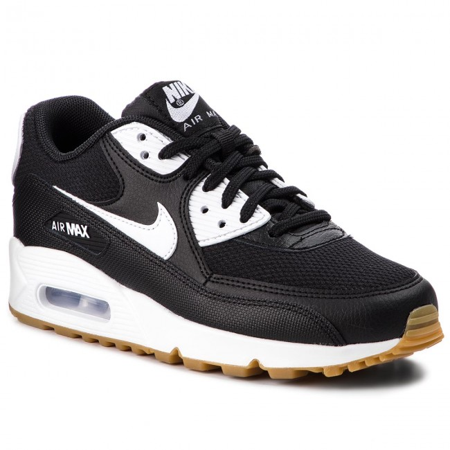 Chaussures NIKE Air Max 90 325213 055 BlackWhiteGum Light Brown