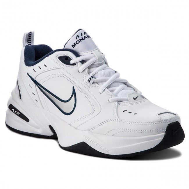 Chaussures NIKE Air Monarch IV 415445 102 WhiteMetallic Silver