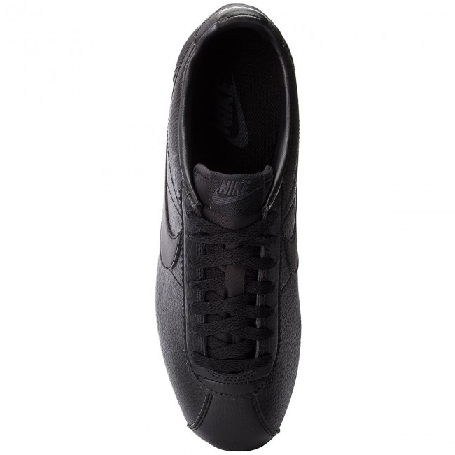 Chaussures Cortez 749571 anthracite black Classic Nike Black 002 Leather TKlFcJ1