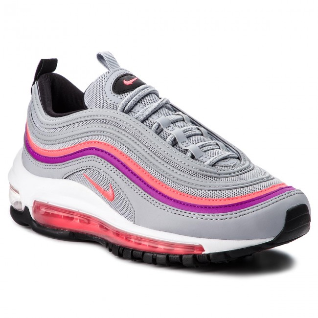 8f290b0fd131f Chaussures NIKE - Air Max 97 921733 009 Wolf Grey/Solar Red