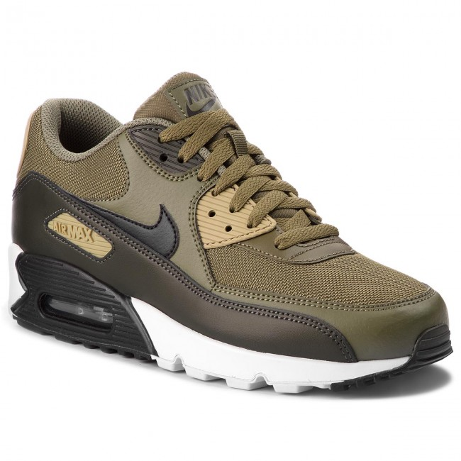 size 40 03ed3 ae66e Chaussures NIKE - Air Max 90 Essential AJ1285 201 Medium Olive Black Sequoia