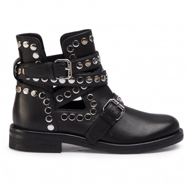 Bottines TWINSET Biker 191TCP048 Nero 00006