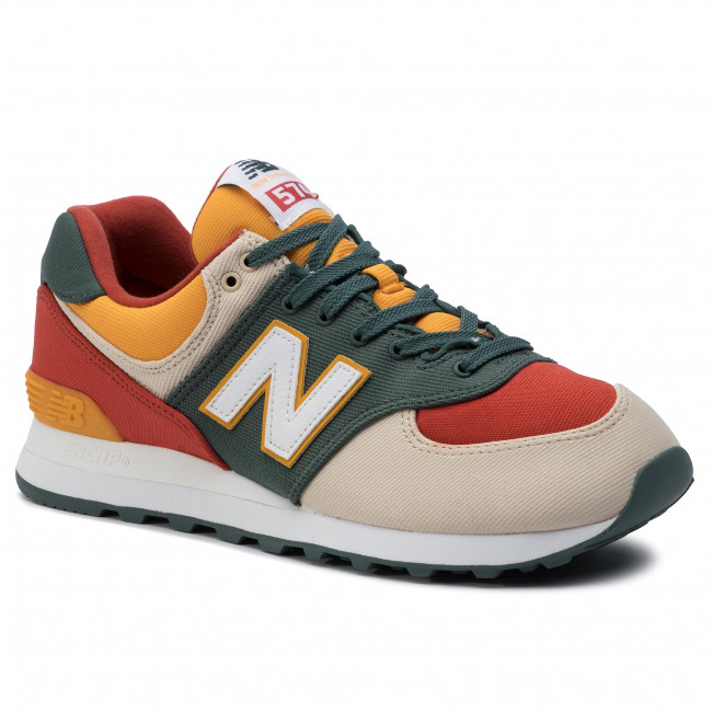 Ml574ind Multicolore New Sneakers Balance Vert 34R5AjL