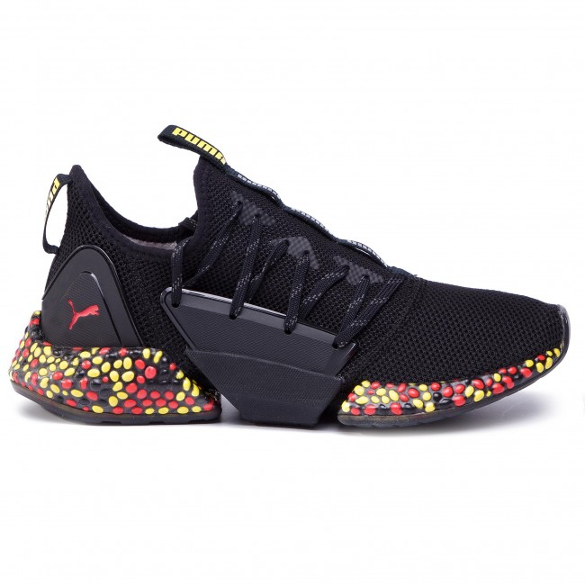 Chaussures PUMA Hybrid Rocket Runner 191592 Black BlazingYellow Red