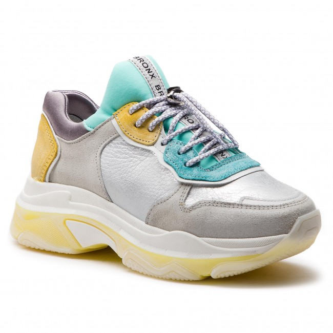 Off 1525 Bx 66167 Bronx k Sneakers yellow White turquoise MGUSzqVp