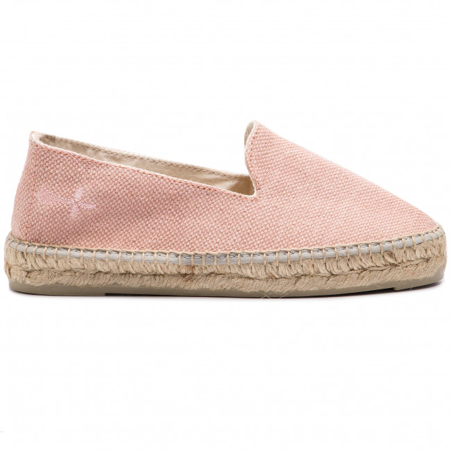 Slippers 2 W 4 N0 Rose Canvas Espadrilles Manebi rdBoeWCx