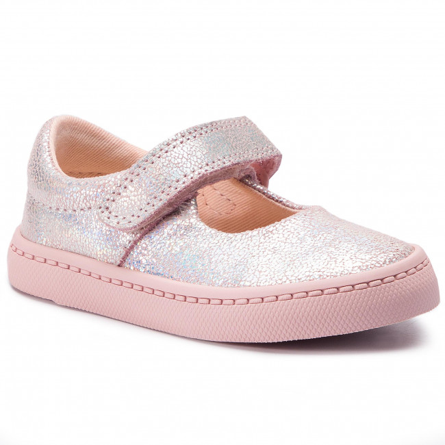 Chaussures basses CLARKS City Gleam T 261425186 Pink Interest