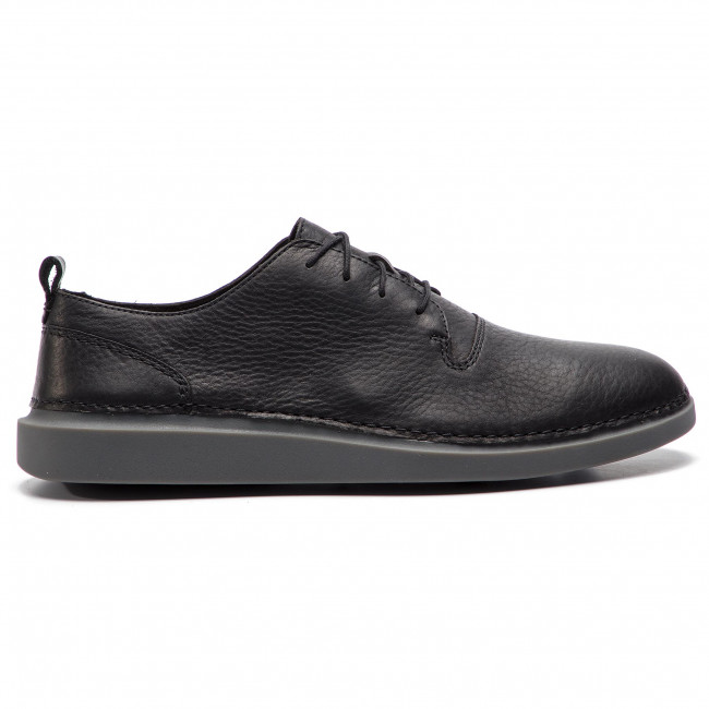 261393497 Lace Leather Black Chaussures Hale Clarks Basses 4AL3j5R