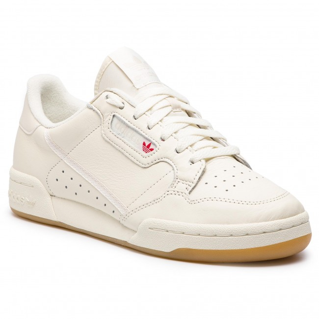 c46ef9f14243 Chaussures adidas - Continental 80 BD7975 Owhite/Rawwht/Gum3 - Sneakers -  Chaussures basses - Homme - chaussures.fr
