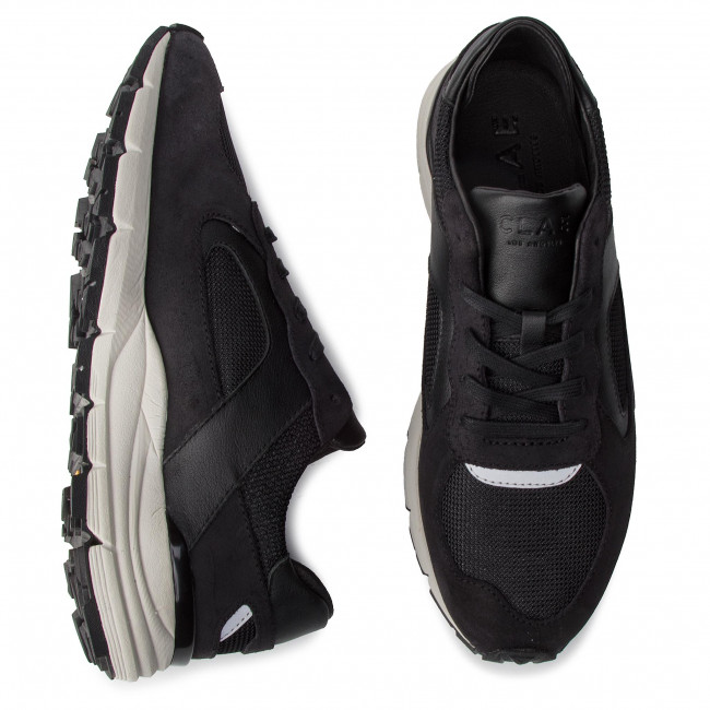 Sneakers Clae - Edwin Cl19aed02 Black Chaussures Basses Homme
