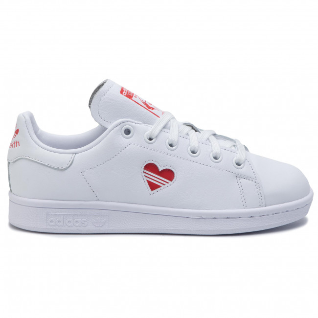 Chaussures adidas - Stan Smith W G27893 Ftwwht/Actred/Ftwwht