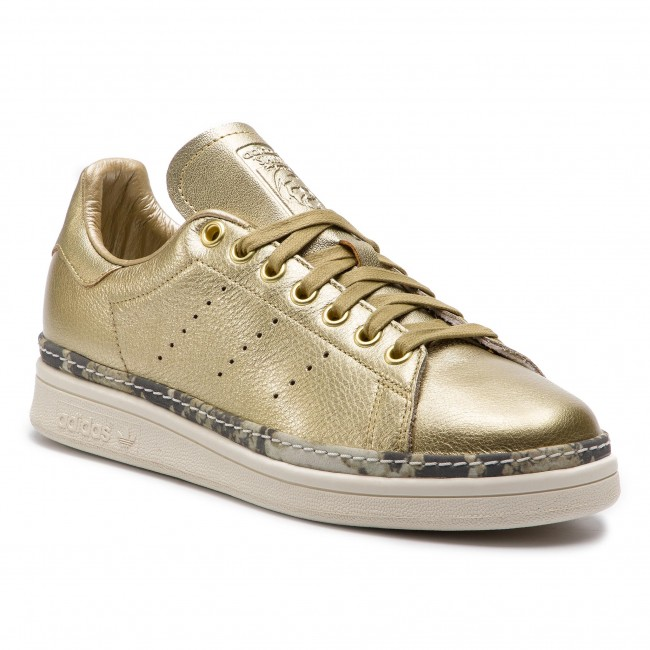 Chaussures adidas Stan Smith New Bold W F34120 GoldmtGoldmtOwhite