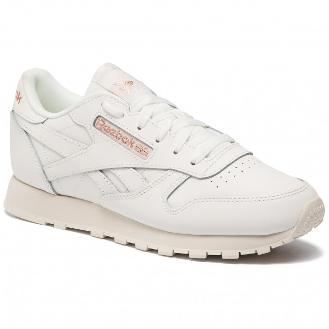 Chaussures Cl Reebok Chalkrose Goldpaper Whi Lthr Dv3762 m08nwN