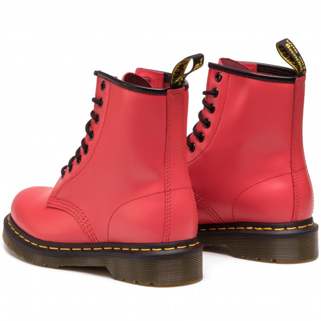 Chaussures Rangers DR. MARTENS 1460 10072600 Cherry Red Smooth