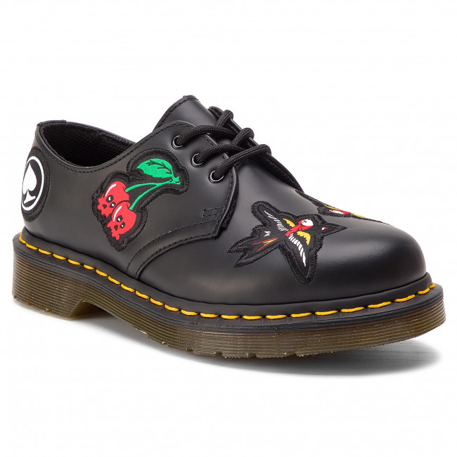 Chaussures basses DR. MARTENS 1461 Patch 24435001 Black