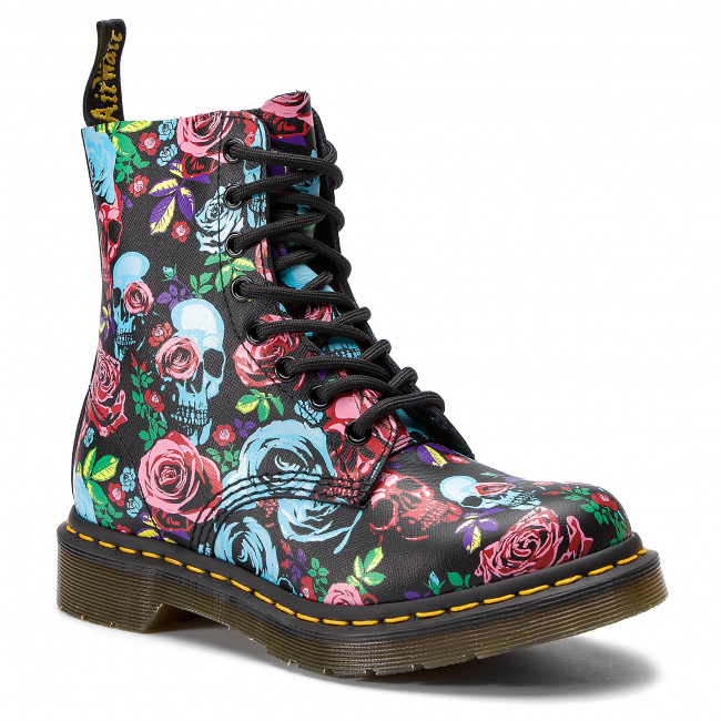 Chaussures Rangers DrMartens Rose Pascal 24427102 Multi 1460 OZkPXiu