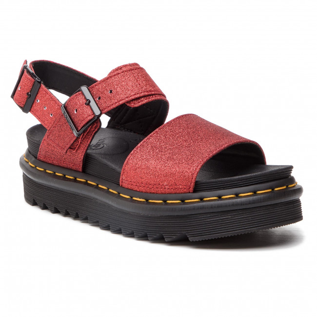 24818602 Compensées Red DrMartens Gltr Sandales Mules Voss knwP0X8O