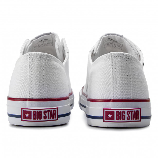 Sneakers Big Star - Dd174500r40 White Baskets Chaussures Basses Homme UXayLOtA