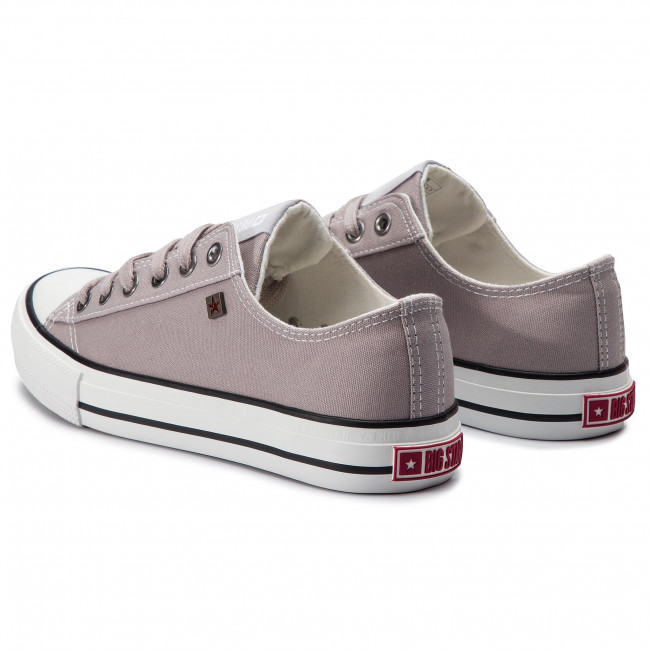 Sneakers Big Star - Dd274a233r37 Grey Baskets Chaussures Basses Femme
