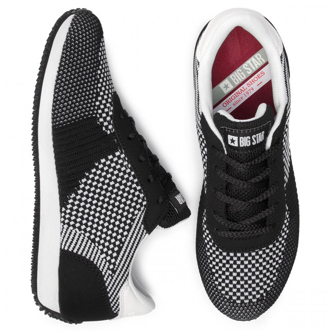Sneakers Big Star - Dd274546 Black/white Chaussures Basses Femme
