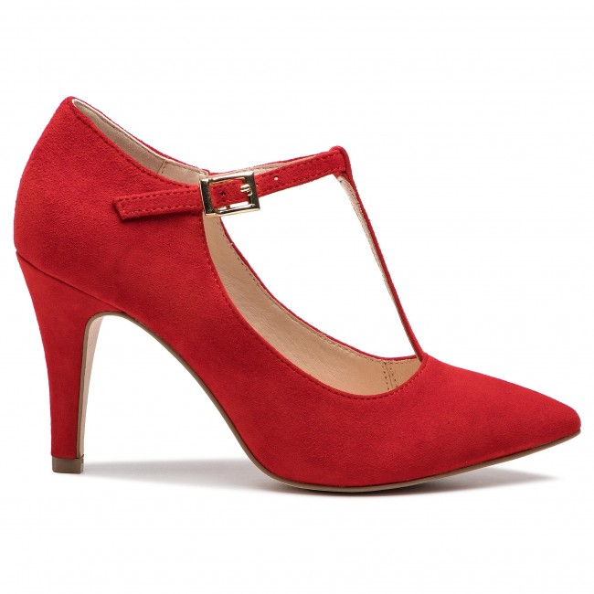 Basses Red 9 22 24400 Suede 524 Chaussures Caprice NnwOkX08P