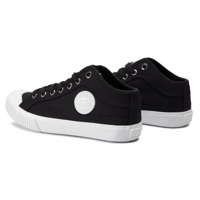 abordables Sneakers BIG STAR - DD274908 Black - Baskets - Chaussures basses - Femme Prendre plaisir
