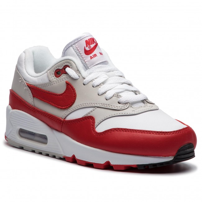 Chaussures NIKE Air Max 901 AQ1273 100 WhiteUniversity Red
