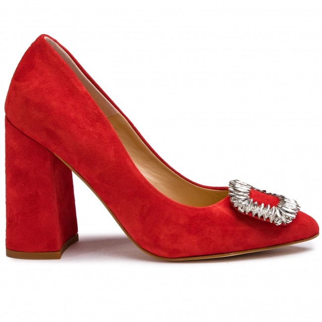 Chaussures Basses Solo Femme 14156-8a-g13/000-04-00 Rouge