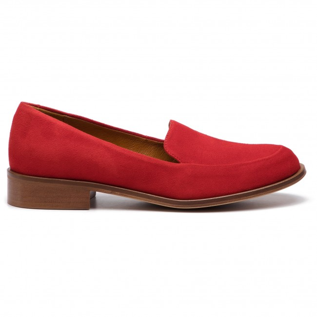 05 Loafers 96640 Femme Rouge 000 00 Solo g13 03 knwOP0X8