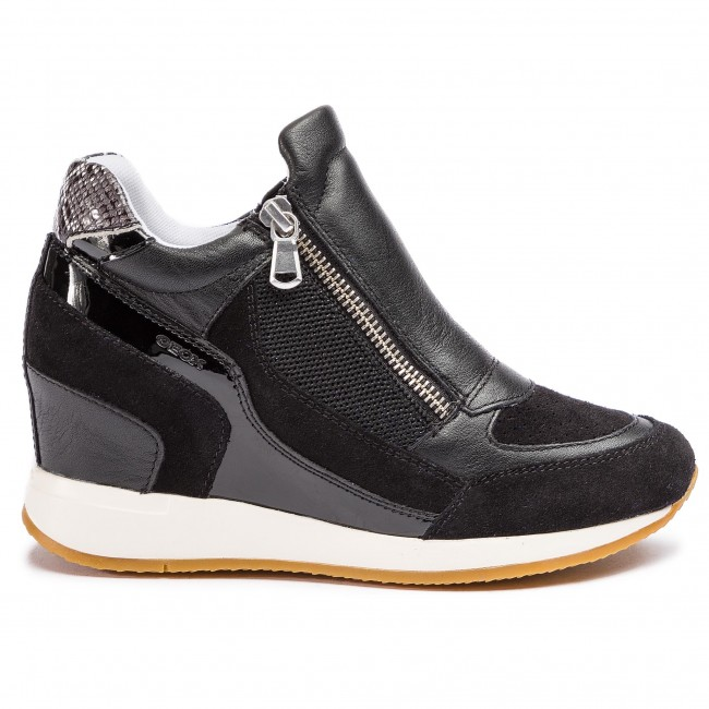 Sneakers GEOX D Nydame A D620QA 08522 C9997 Black