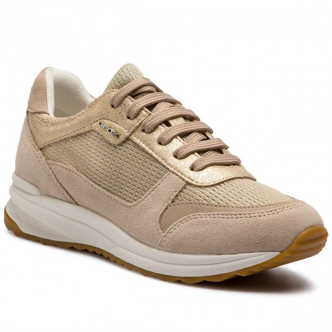 Sneakers GEOX D Airell C D642SC 0LY22 CB55A ChampagneBeige