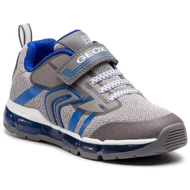 Sneakers GEOX J Android B. A J9244A 01454 C0069 D GreyRoyal