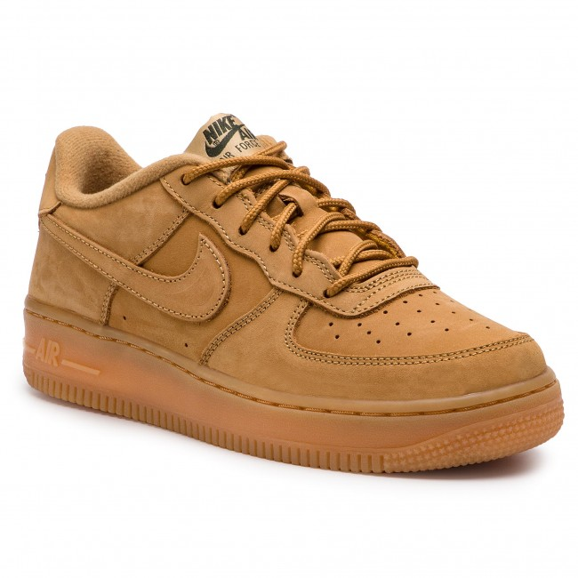 buying now reasonable price online store Chaussures NIKE - Air Force 1 Winter Prm Gs 943312 200 Flax/Flax/Outdoor  Green