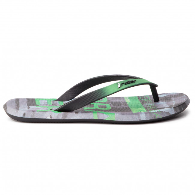 Tongs Rider - R1 Energy Ad 10719 Black/green/grey 23208 Mules Et Sandales Homme