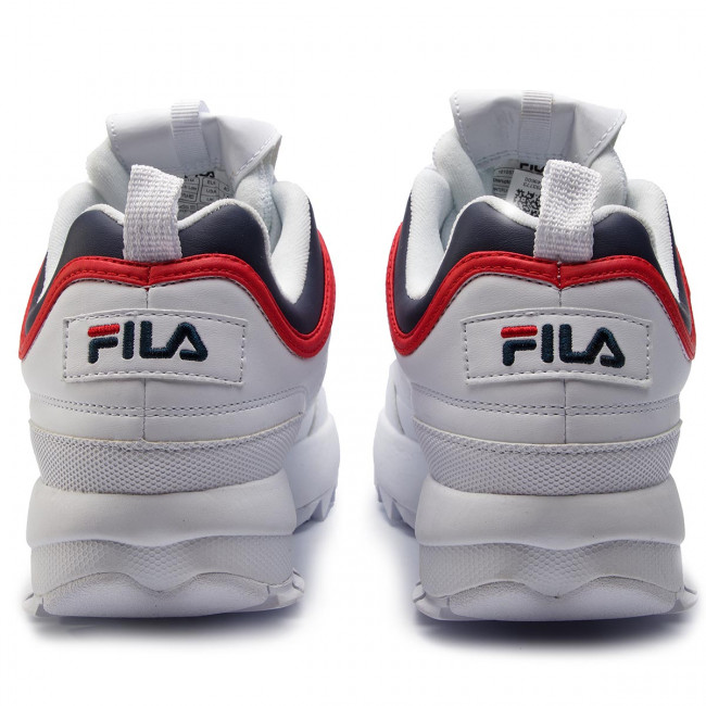 Sneakers Red 1010575 fila fila Cb Navy 01m Fila Low White Disruptor gYbf6y7