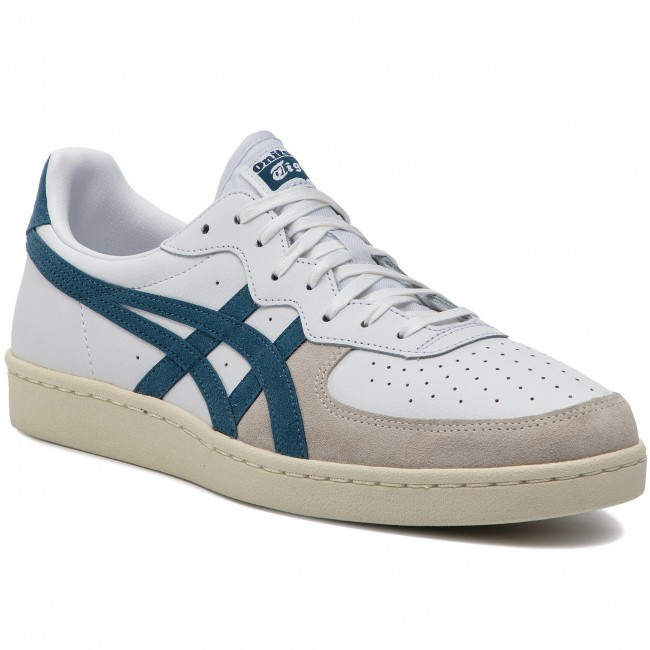 2b0a024c813d Sneakers ASICS - ONITSUKA TIGER Gsm D5K2Y White/Mallard Blue 0140 - Sneakers  - Chaussures basses - Homme - chaussures.fr