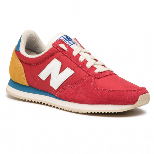 new balance chaussures femme rouge